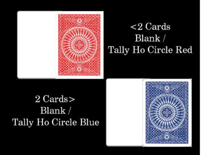 Fun Blank Face Deck Royal magic trick Inc